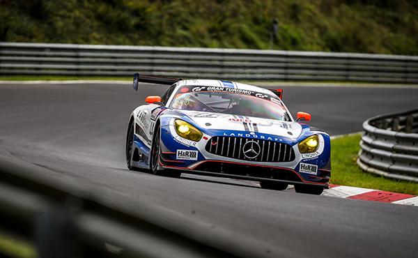 Landgraf Motorsport_Kenneth Heyer_VLN 7 2017_Mercedes AMG GT3_cut