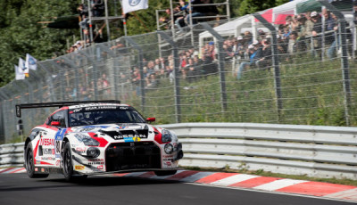 Nissan GT-R NISMO GT3 at 2014 Nurburgring 24 Hours