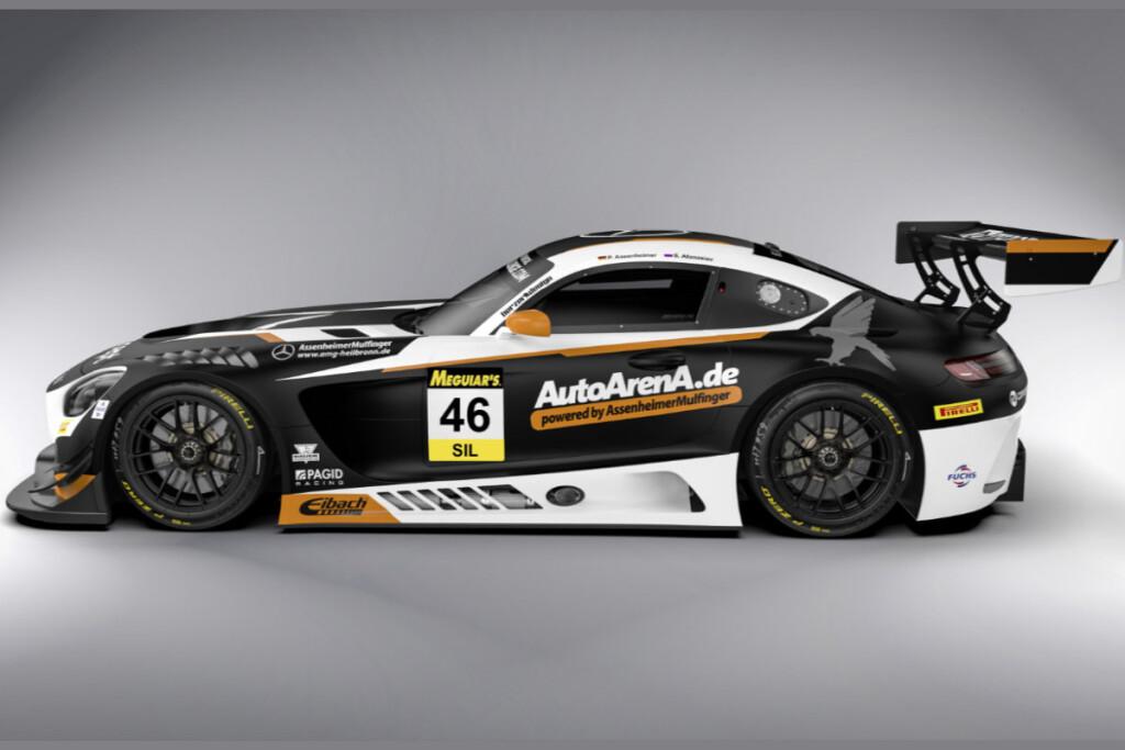 © Daimler | Mercedes-AMG GT3 #46, Black Falcon
