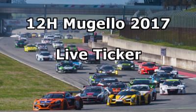 12h Mugello 2017 Live Ticker