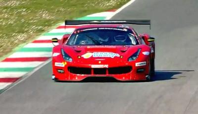 12h-Mugello-2017-erste-vier-Stunden-Scuderia-Praha-Ferrari-488-GT3-Nr11