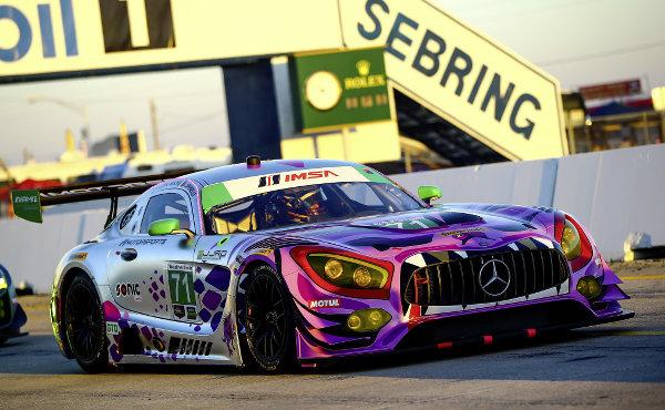 Mercedes-AMG GT3 #71, P1 Motorsports