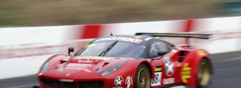 12h Bathurst 2017_Vilander_Ferrari 488 GT3_Pole