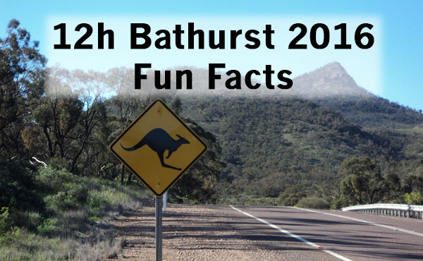 12h bathurst 2016 zw lf fun facts zum australischen rennen. Black Bedroom Furniture Sets. Home Design Ideas