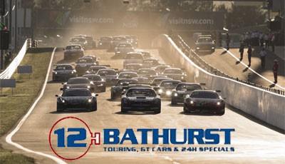 12h Bathurst mit Logo