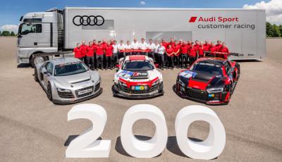 200. Audi R8 LMS