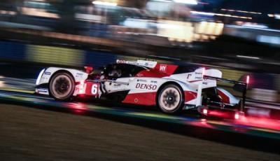 Mike Conway, Stephane Sarrazin, Kamui Kobayashi, Toyota TS050 #6, 2016 24 Stunden von Le Mans