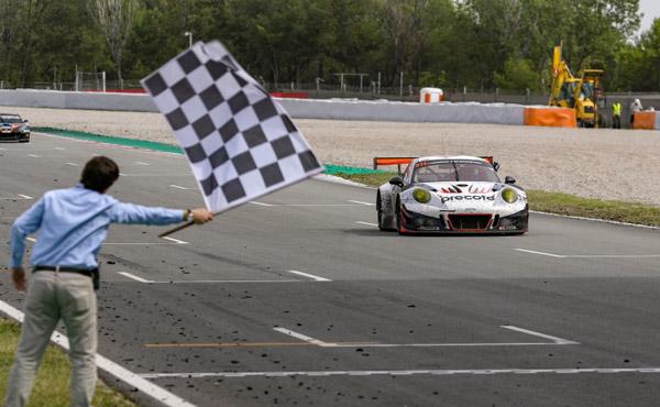24 Barcelona 2018_Sieger_Herberth Motorsport_Porsche 911 GT3 R