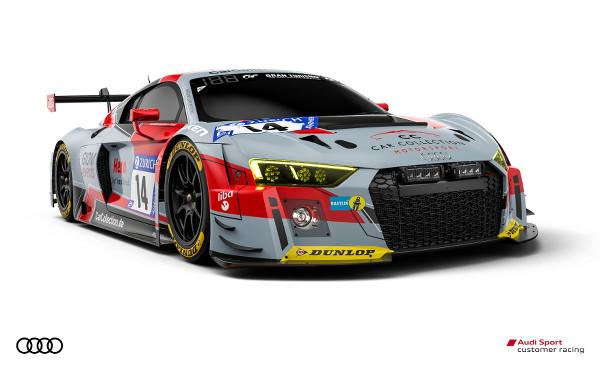Audi R8 LMS #14 (Car Collection Motorsport), Stefan Aust/Christian Bollrath/Ronnie Saurenmann/Peter Schmidt