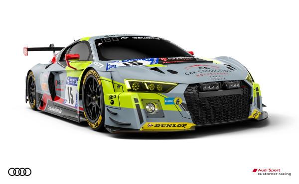Audi R8 LMS #15 (Car Collection Motorsport), Christopher Friedrich/Pierre Kaffer/Adrien De Leener/Simon Trummer
