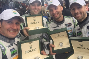 24h-Daytona-2016-Rene-Rast-Marco-Seefried-Andy-Lally-John-Potter-and-the-Rolex-watches