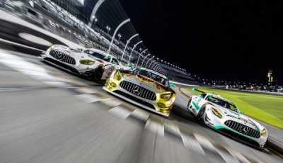 Mercedes-AMG Motorsport | 24h Daytona 2017 Test Roar before the Rolex 24