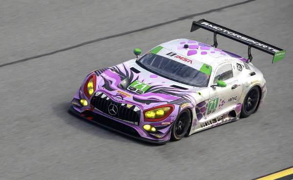 P1 Motorsports Mercedes-AMG GT3 #71 #71 P1 Motorsports Mercedes-AMG GT3