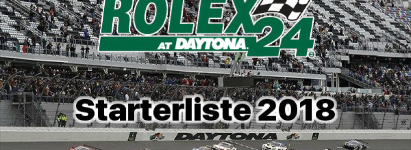 24h-Daytona-2018-Starterliste