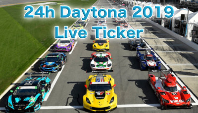 24h Daytona 2019 Live Ticker