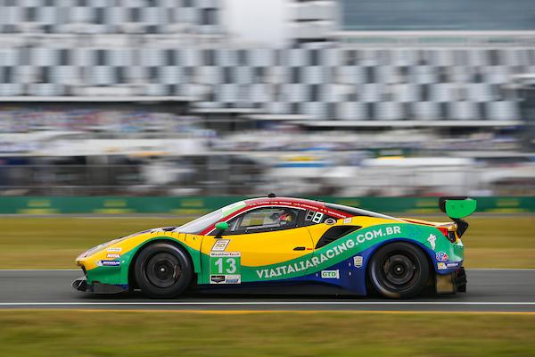 #13 Via Italia Racing Ferrari 488 GT3