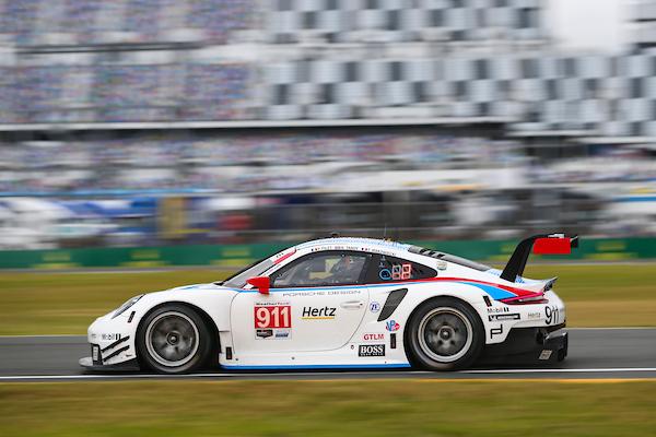 #911 Porsche GT Team Porsche 911 RSR