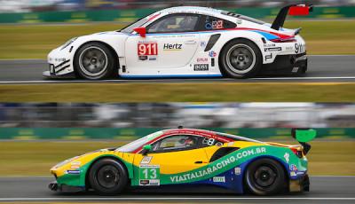 24h-Daytona-2019-Qualifying-Pole-Setters-Porsche-911-RSR-Ferrari-488-GT3
