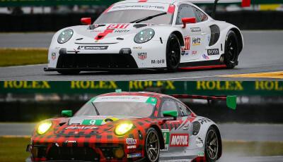 24h Daytona 2020 Porsche 911 RSR / GT3 R Pole Position