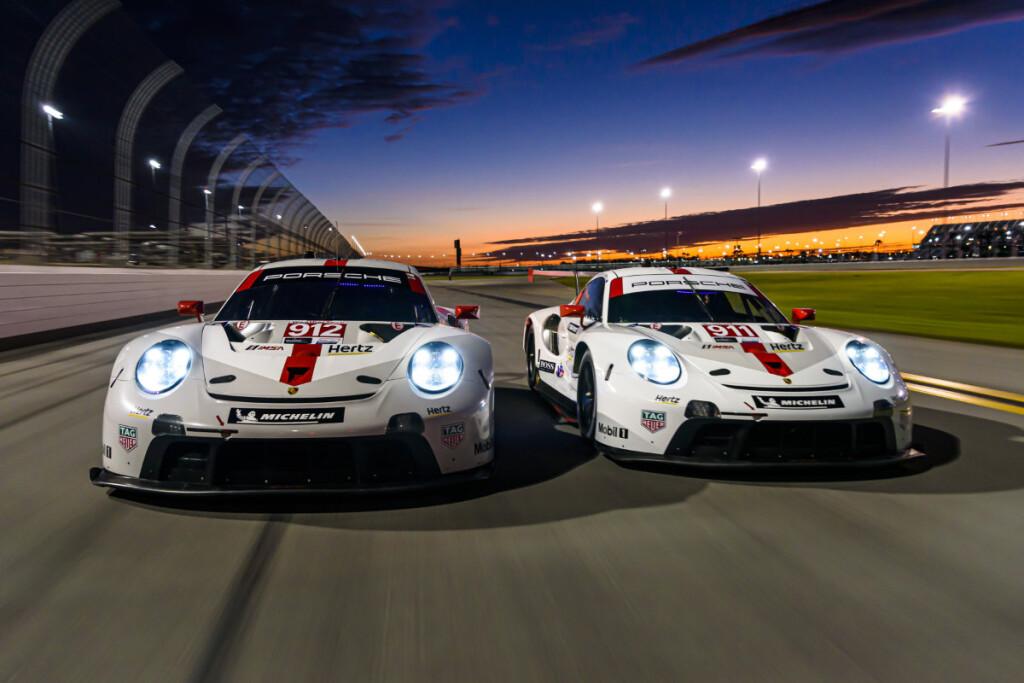 2020 IMSA - Roar Before the 24 Porsche 911 RSR