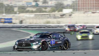 24h Rennen Dubai 2017; BLACK FALCON Mercedes-AMG GT3 #3