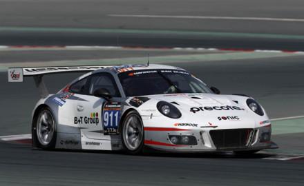 24h Dubai 2017_Herberth Motorsport_Porsche