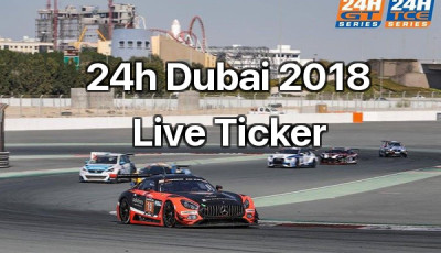 24h Dubai 2018 Live Ticker