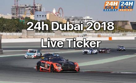24h Dubai 2018 Live Ticker