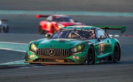 24h Dubai 2018_P1_Black Falcon_Mercedes AMG GT3 No 2