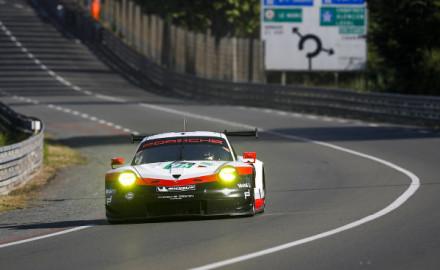 24h-Le-Mans-2017-Test-Porsche-911-RSR-Nr.91