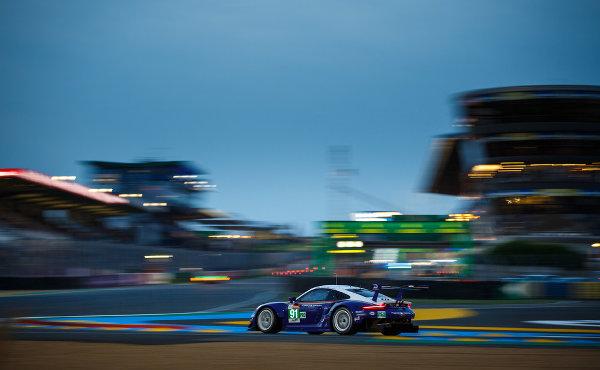 24h-Le-Mans-2018-Qualifying-1-Porsche-911-RSR-Nr.91