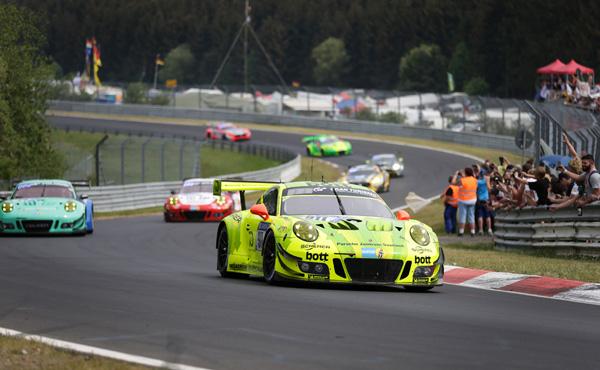 24h Nürburgring 2018_911 Manthey Racing_Porsche 911 GT3 R