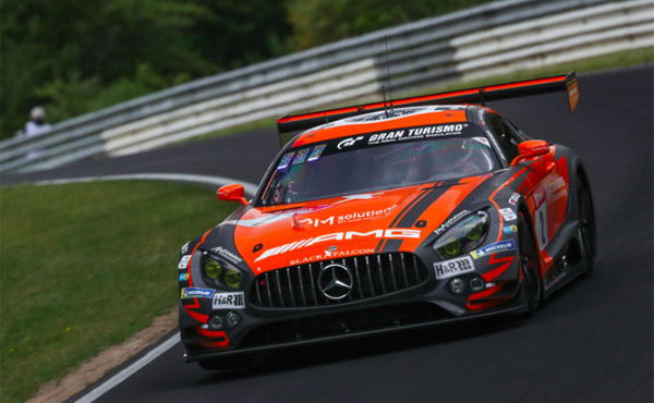 24h Nürburgring 2019_Black Falcon_Mercedes AMG GT3 2_Pole