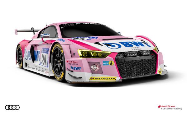 Audi R8 LMS #24 (Audi Sport Team BWT), Christopher Haase/Nico Müller/Markus Winkelhock/Mike Rockenfeller