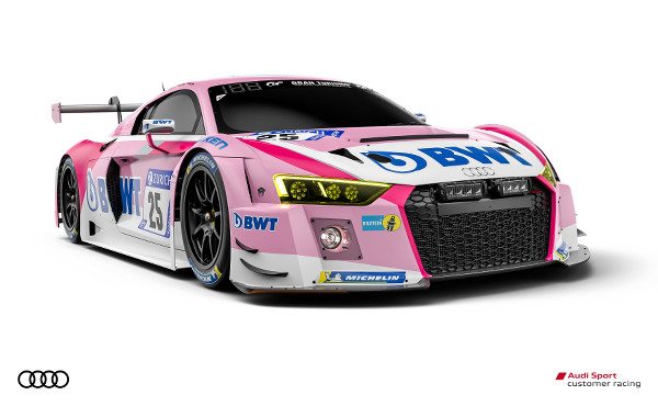Audi R8 LMS #25 (Team BWT Mücke Motorsport), Marcel Fässler/Christer Jöns/Pierre Kaffer/Stefan Mücke