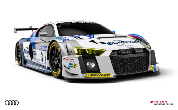 Audi R8 LMS #3 (Audi Sport Team Phoenix), Christopher Haase/Nico Müller/Frank Stippler/Frédéric Vervisch