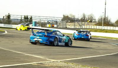 24h Quali 2018_Falken Motorsport_BMW M6 GT3_Porsche 911 GT3 R