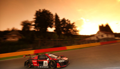 Audi R8 LMS #28 (Audi Sport Team WRT), Nico Müller/René Rast/Laurens Vanthoor