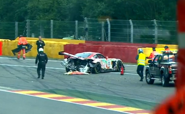 24h-Spa-2017-Qualifying-Unfall-Mercedes-AMG-GT3-Nr.00