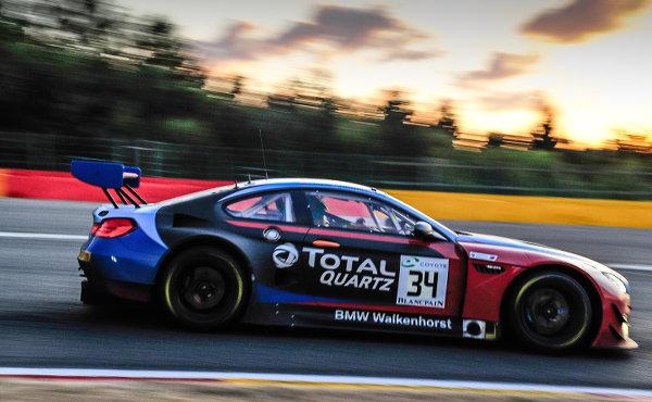 24h-Spa-2018-Walkenhorst-Motorsport-BMW-M6-GT3-Nr.34-Sonnenuntergang