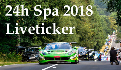 24h Spa 2018_Liveticker