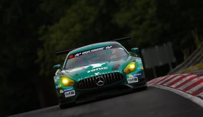 #7 Black Falcon, Gerwin, Yelmer Buurman, Hubert Haupt, Manuel Metzger, Mercedes AMG GT3