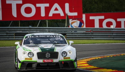 #8 Bentley Team M-Sport, Bentley Continental GT3, Andy Soucek, Maxime Soulet, Wolfgang Reip, 24 Stunden Spa-Franchorchamps 2016