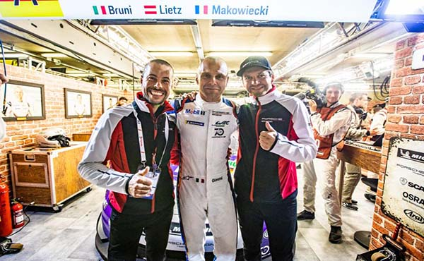 #91 Porsche GT Team, Lietz-Bruni-Makowiecki (c) FIAWEC, Joao Filipe