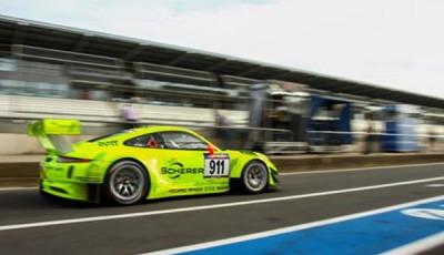 #911 Manthey Racing, Patrick Pilet, Jörg Bergmeister, Porsche 911 GT3-R