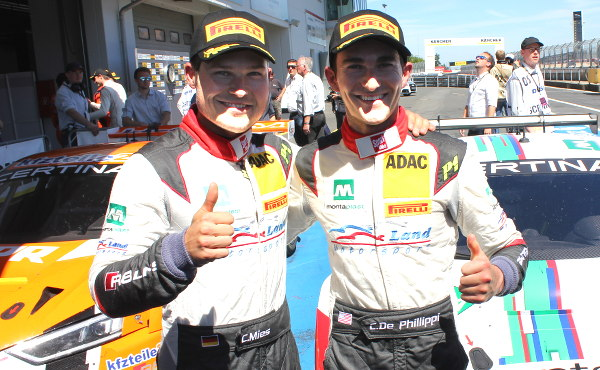 ADAC-GT-Masters-2016-Nuerburgring-Rennen-2-Sieger-Mies-De-Phillipppi