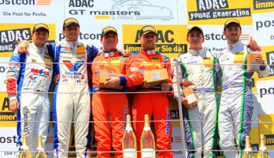 ADAC-GT-Masters-2016-Red-Bull-Ring-Podest-Rennen-2