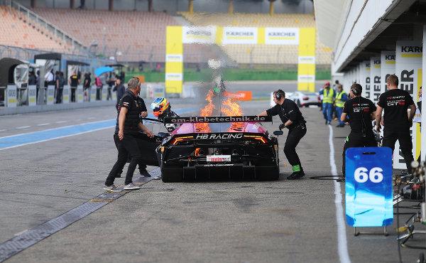 ADAC GT Masters Hockenheim 2017 HB Racing Lamborghini Huracán GT3 Nr. 7