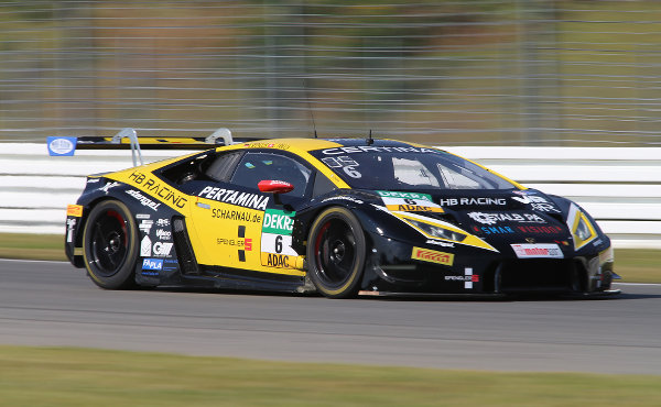 ADAC GT Masters Hockenheim 2017 HB Racing Lamborghini Huracán GT3 Nr. 6