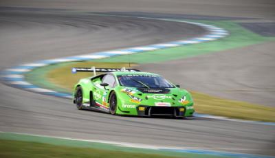 ADAC-GT-Masters-2017-Hockenheimring-freies-Training-2-Grasser-Racing-Lamborghini-Huracan-GT3-Nr.63